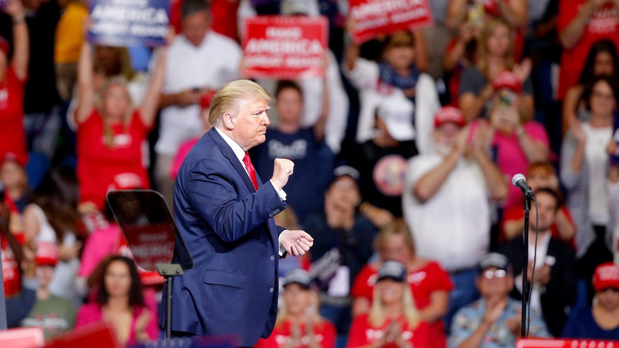 Trump Kung Flu Rally